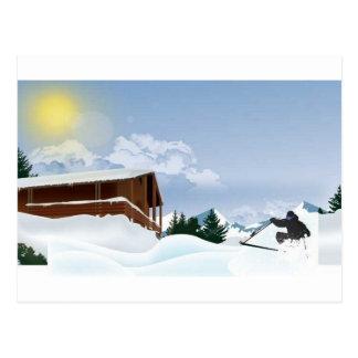 Carte Postale Montagne de Milou