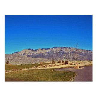 Carte Postale Montagne de Sandia, Albuquerque Nouveau Mexique