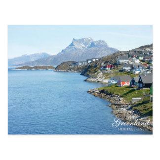 Carte Postale Montagne de Sermitsiaaq, Nuuk
