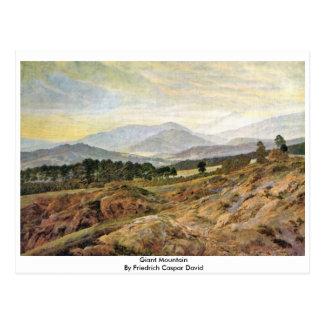 Carte Postale Montagne géante par Friedrich Caspar David