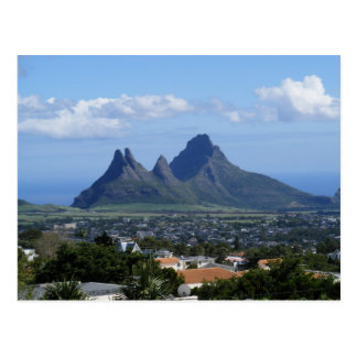 Carte Postale Montagne Îles Maurice
