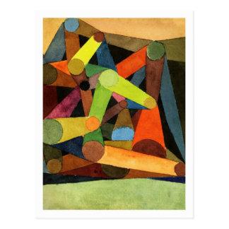 Carte Postale Montagne ouverte par Paul Klee