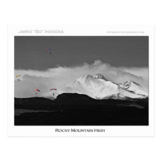 Carte Postale Montagne rocheuse du Colorado haute