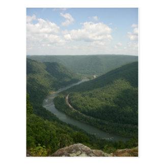 Carte Postale Montagnes d'Appalachia