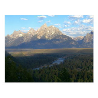 Carte Postale Montagnes de Jackson Hole (parc national grand de