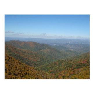 Carte Postale Montagnes de la Caroline du Nord