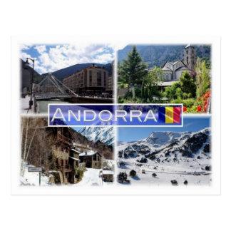 Carte Postale Montagnes de l'Andorre d'ANNONCE -