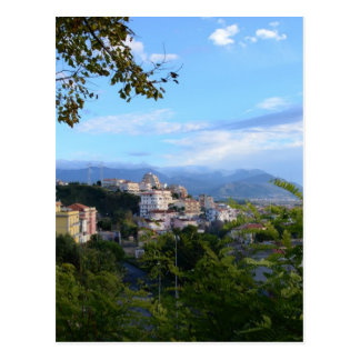 Carte Postale Montagnes derrière Scalea