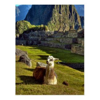 Carte Postale Montagnes du Pérou, les Andes, les Andes, Machu