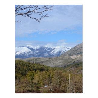 Carte Postale Montagnes en Calabre