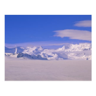 Carte Postale Montagnes en parc national de Wrangell-St.Elias