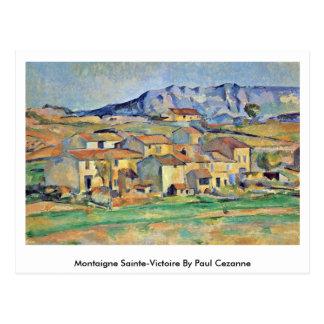 Carte Postale Montaigne Sainte-Victoire par Paul Cezanne