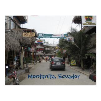 Carte Postale Montanita, Equateur