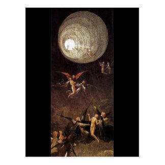 Carte Postale Montée de la bénir, par Hieronymus Bosch