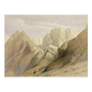 Carte Postale Montée de la chaîne inférieure de Sinai, le 18