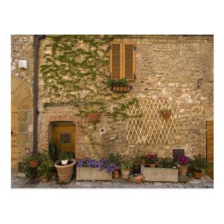 Carte Postale Montefollonico, d'Orcia de Val, province de
