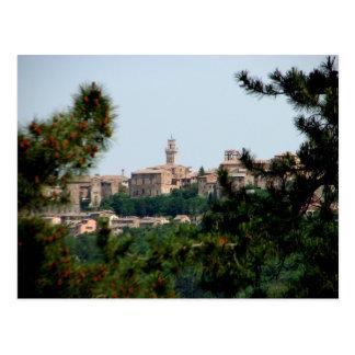 Carte Postale Montepulciano, Italie