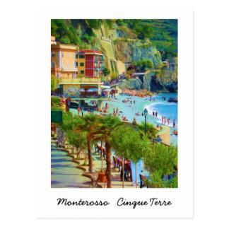 Carte Postale Monterosso, Cinque Terre, Italie