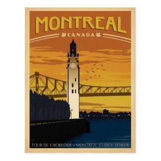 Carte Postale Montréal, Canada