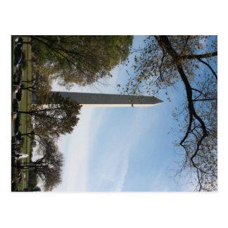 Carte Postale Monument de George Washington