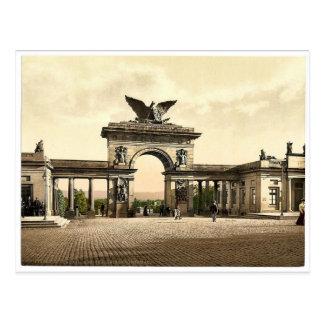 Carte Postale Monument de Krieger, Thor, avenue de Cassel,