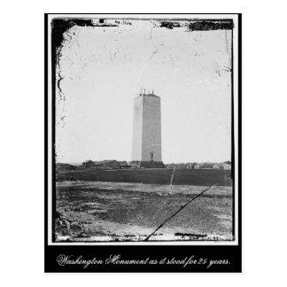 Carte Postale Monument de Washington sans modification pendant