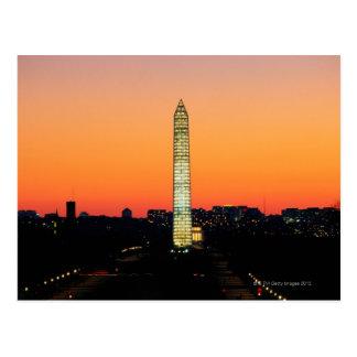 Carte Postale Monument de Washington sous la restauration au