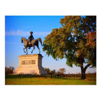 Carte Postale Monument sur le champ de bataille de Gettysburg