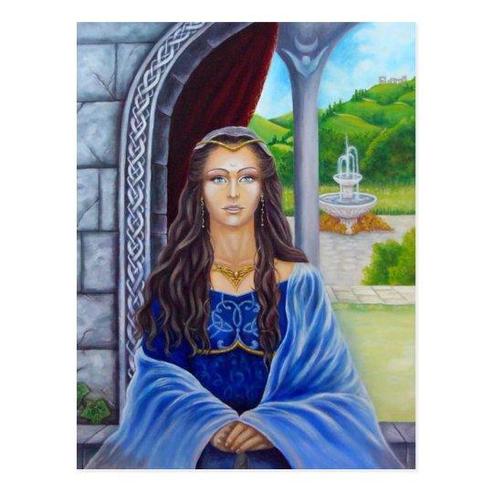 Carte Postale Morgane, prêtresse d'Avalon