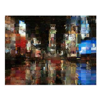 Carte Postale mosaïque de Times Square