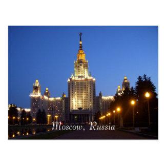Carte Postale Moscou, Russie