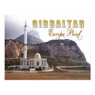 Carte Postale Mosquée au point d'Europa, Gibraltar
