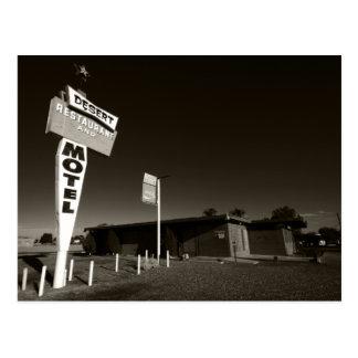 Carte Postale Motel abandonné