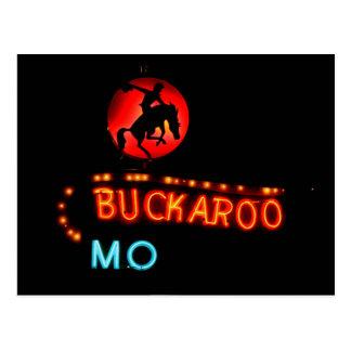 Carte Postale Motel de Buckaroo, Tucumcari, Nouveau Mexique