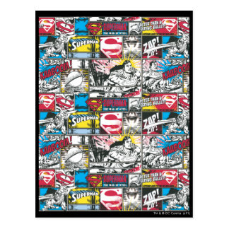 Carte Postale Motif 2 de logo de Superman