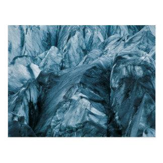 Carte Postale Motif abstrait en glacier | Islande