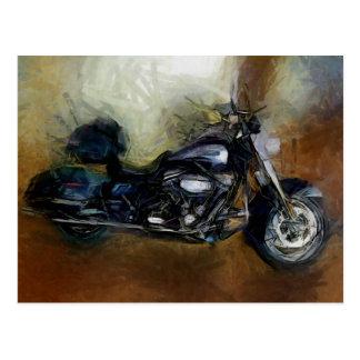 Carte Postale Moto de Harley
