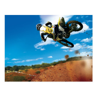 Carte Postale Motocross