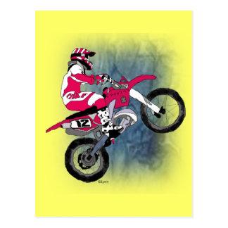 Carte Postale Motocross301