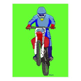 Carte Postale Motocross 100