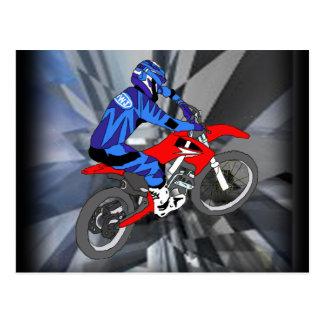 Carte Postale Motocross 204