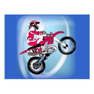 Carte Postale Motocross 305