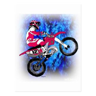 Carte Postale Motocross 306