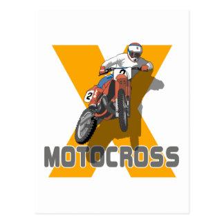 Carte Postale Motocross extrême