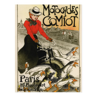 Carte Postale Motos de Comiot