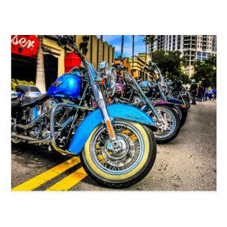 Carte Postale Motos de Harley Davidson