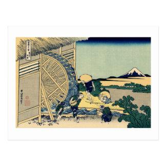 Carte Postale Moulin à eau chez Onden