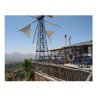 Carte Postale Moulins à vent de Crète