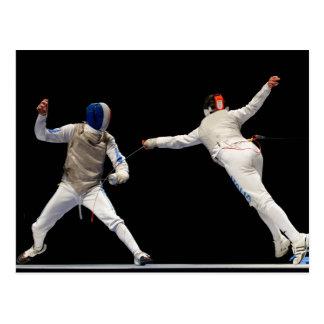 Carte Postale Mouvement brusque et parade de clôture olympiques