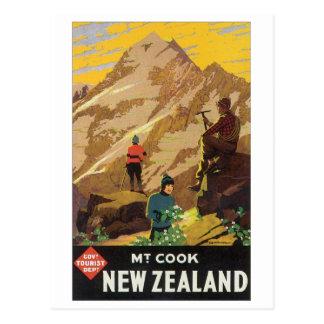 Carte Postale Mt. Cuisinier, affiche de voyage de la Nouvelle